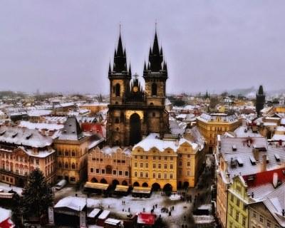 Погода в Чехии зимой и стоимость отдыха