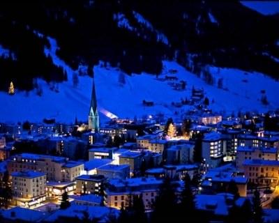 Отдых в горнолыжном курорте Давос в Швейцарии
