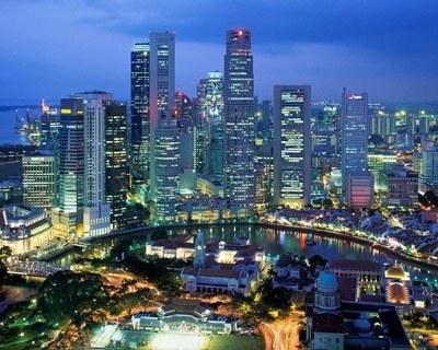 Современный город контрастов — Сингапур