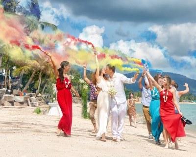 Свадьбы на острове Самуи